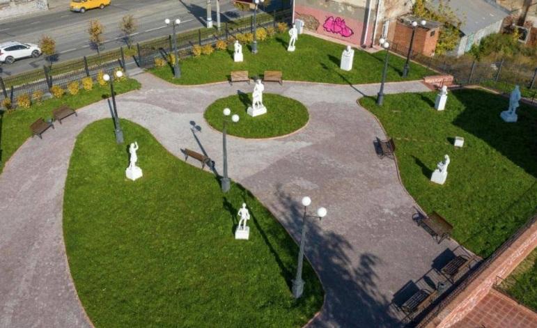 точка притяжения-парк скульптур советского периода